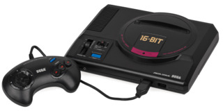 I promised Mento I would use a picture of the actual Mega Drive from their childhood.