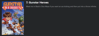 Hot Take: Gunstar Super Heroes > OG Gunstar Heroes