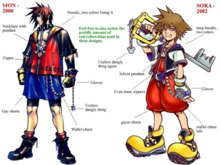 If you wanted to know about a HILARIOUS Square-Enix fan conspiracy theory. Here's an image purporting to PROVE that The Bouncer is a prequel to Kingdom Hearts!