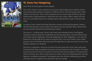 Science being applied to Sonic? SAY WHAT?!?!?!?!