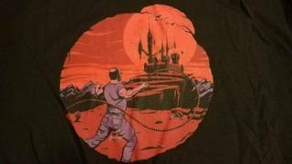The VinnyVania shirts sure look fresh!