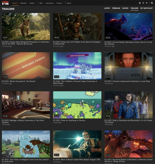 Again, let's give a big round of applause for Marino for uploading all of these E3 trailers!