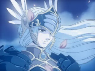 Lenneth in the anime-style cutscenes of the PS1 version.