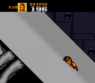Iron Man is so lazy.
