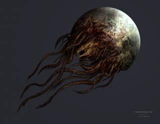 Concept art of a Brethren Moon.