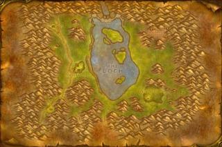 The map of Loch Modan