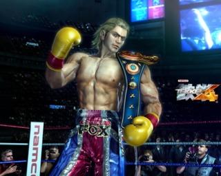 Steve Fox as he appears in Tekken 4
