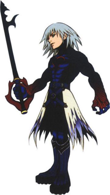Riku under Ansem's control