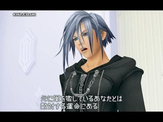 Zexion as he attempts to manipulate Riku