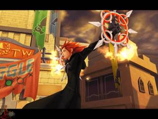 Axel has the power to control Fire