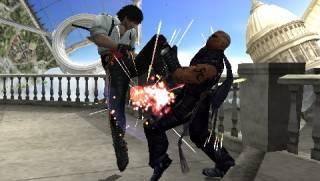 A screenshot of the PSP version