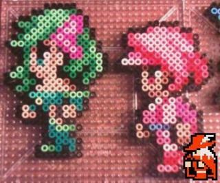 Rydia and Luca in amazing bead sprite artwork courtesy of Red Mage