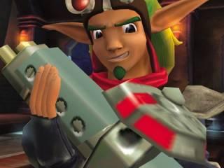 Jak holding the Scatter gun