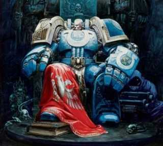 Magnus Calgar - current Chapter Master of the Ultramarines