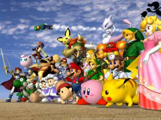 All 25 playable fighters.