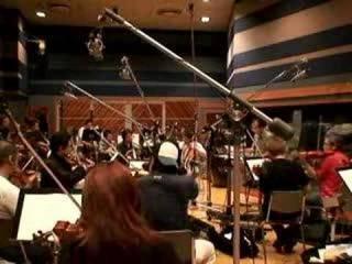 The Super Mario Galaxy Orchestra in session.