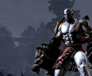 Kratos wearing the Cestus