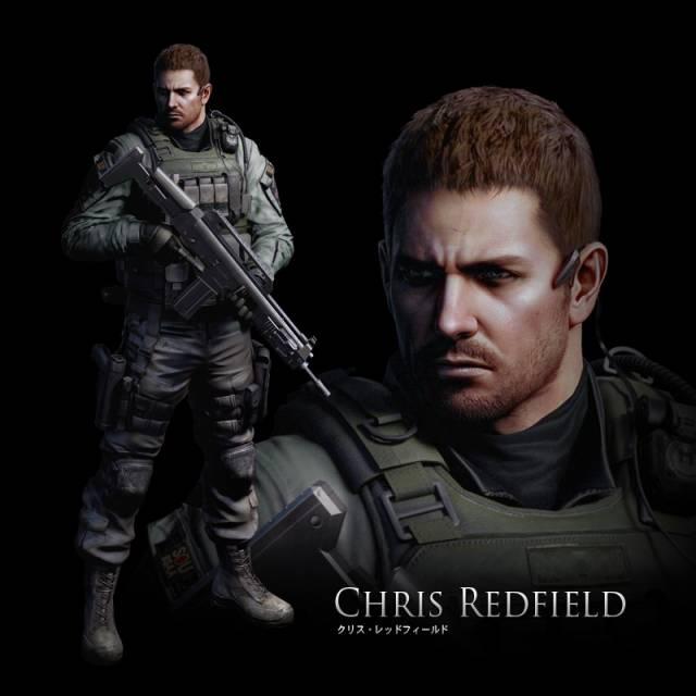 Chris in Resident Evil 6