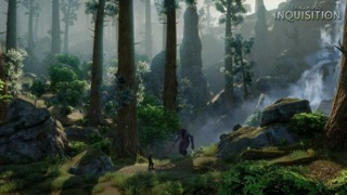 One of Dragon Age: Inquisitions large forests