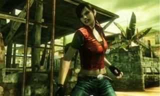 Claire Redfield making her Mercenaries debut.