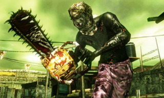 One of the returning sub-bosses, the Chainsaw Majini.