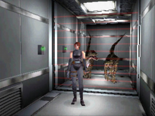Laser grids can be used to keep attacking dinosaurs at bay