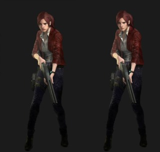 Claire's concept image, before (left) and after.