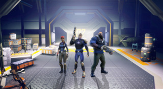 The three agents of MAYHEM available from the start.