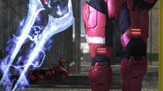 Did you know the Energy Sword has no charge meter in Halo 2 multiplayer? Shit's kinda BROKEN. But oh so fun. The lunge is totally even longer than the H3 one too! BALANCE!