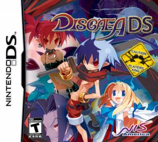 Box art for Disgaea DS