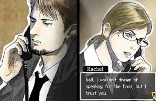 Hyde talking with Rachel.