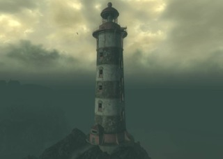 The lighthouse in Fallout 3