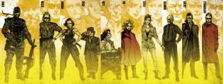 The cast of Metal Gear Solid: Peace Walker