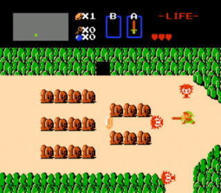 The Legend of Zelda (1986), the most influential open-world game.