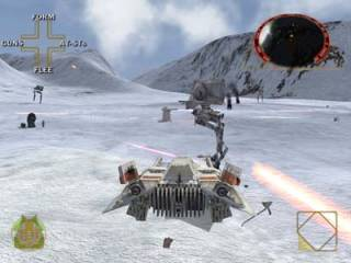The famous battle of Hoth