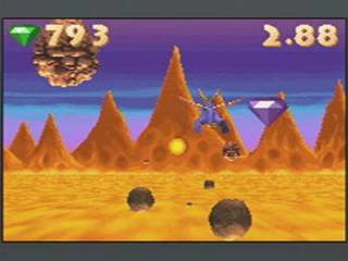 Spyro's flying stages