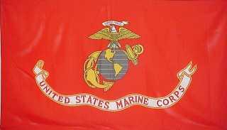 USMC flag.
