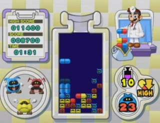 Dr. Mario Online RX Screen