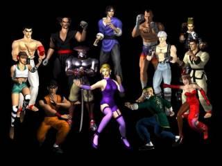 Tekken 2's characters