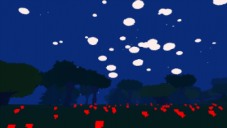 Much out of the ordinary occurs in Proteus' skies.