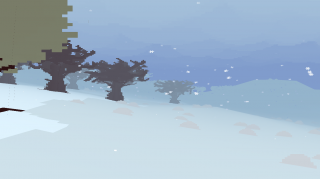 Winter in Proteus carries a different musical theme than Summer.