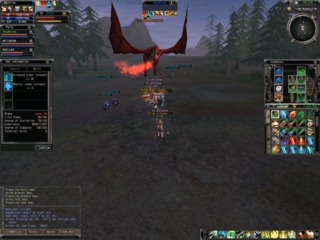 HP, mana and experience is shown in the top left corner.