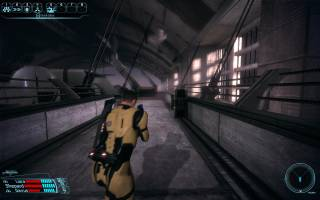 Combat from the PC version