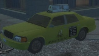 An example of a Taxi in Saints Row 2