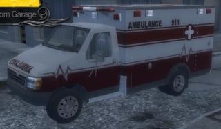 Saint's Row 2's ambulance