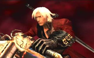Dante on his motorcycle