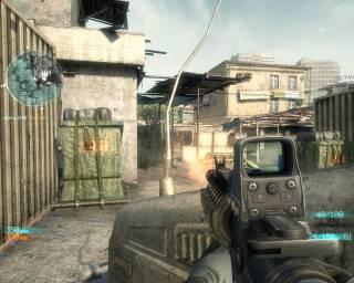 Firing at enemies in multiplayer