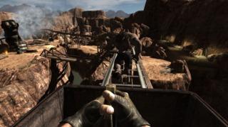 Duke Nukem Forever in a screenshot from the 2009 build.