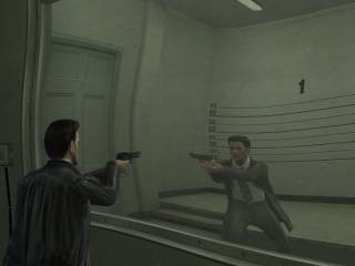 A projected viewport in Max Payne 2: The Fall of Max Payne.
