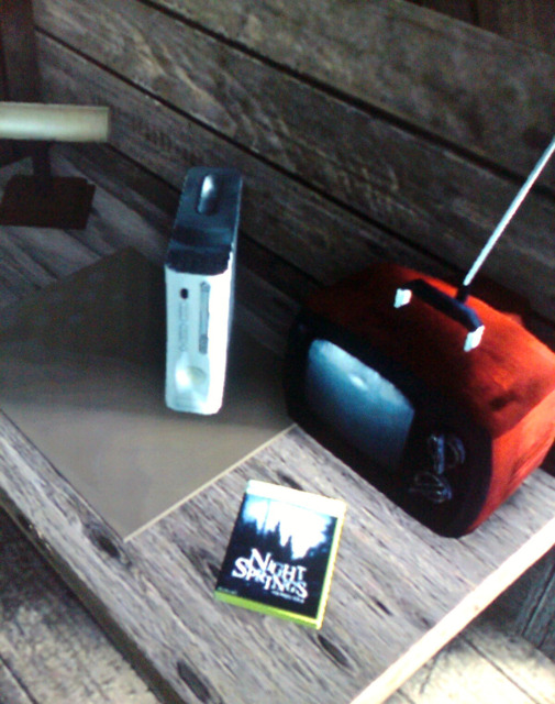 Xbox 360 and a copy of